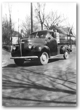 Dey Distributing's beginnings - Adolph's truck